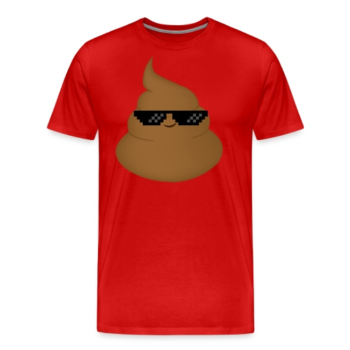 Thug Life Poo - Men's Premium T-Shirt