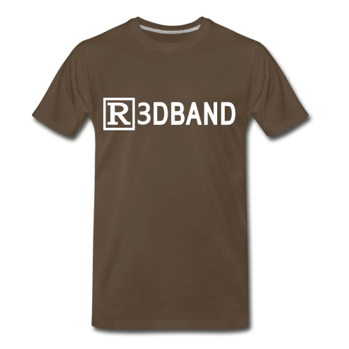 r3dbandtextrd - Men's Premium T-Shirt