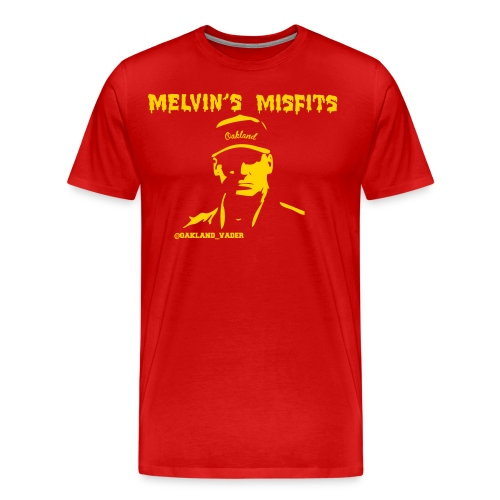 Melvin s Misfits gold - Men's Premium T-Shirt