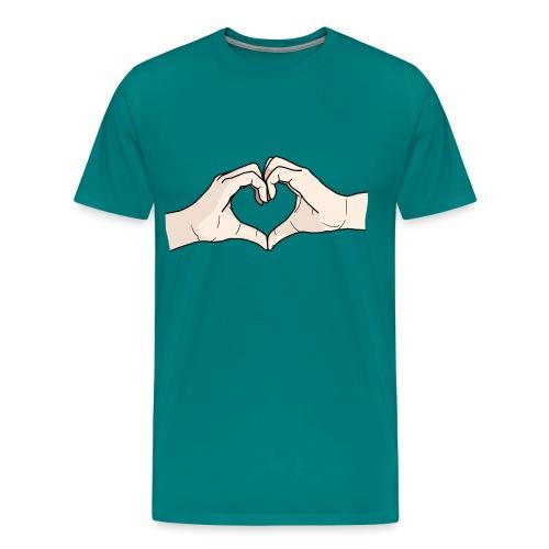 Heart Hands - Men's Premium T-Shirt