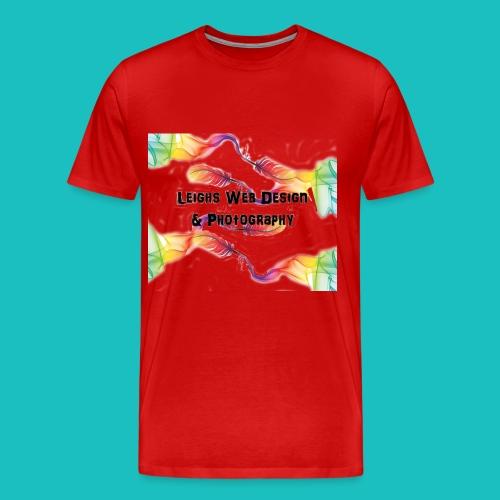 photography logo - Men's Premium T-Shirt