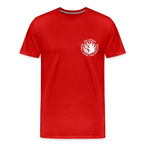 YRVBFB white transparent - Men's Premium T-Shirt