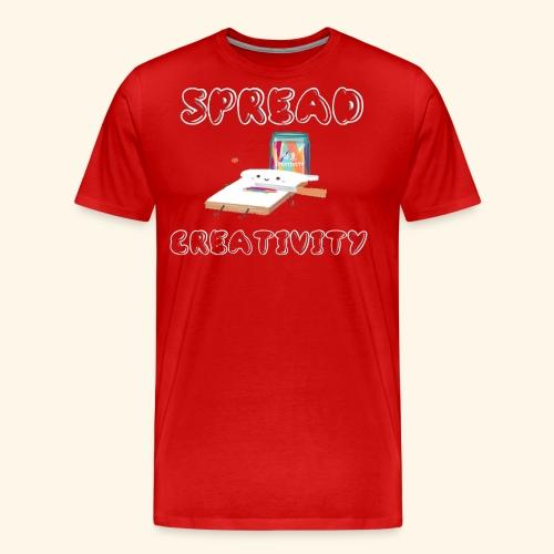 Spreading Creativity - Men's Premium T-Shirt