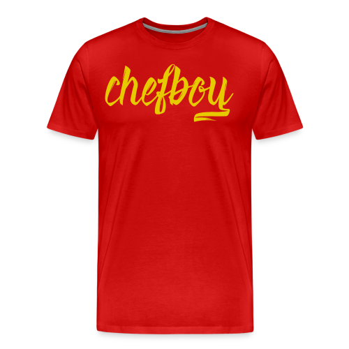 ChefboyYellow - Men's Premium T-Shirt