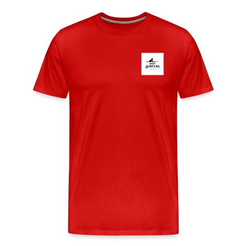 logo ecriture noir fonds blanc - Men's Premium T-Shirt