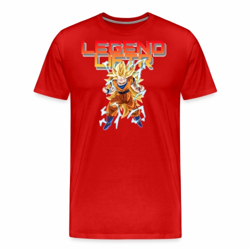 Saiyan Legend Liftr - Men's Premium T-Shirt