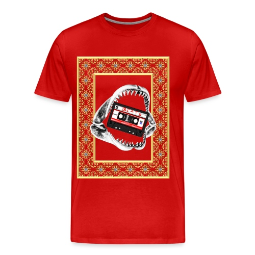 Hip Hop beat eater... Point Bomb - Men's Premium T-Shirt
