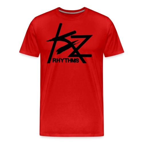 KZ Black Logo - Men's Premium T-Shirt