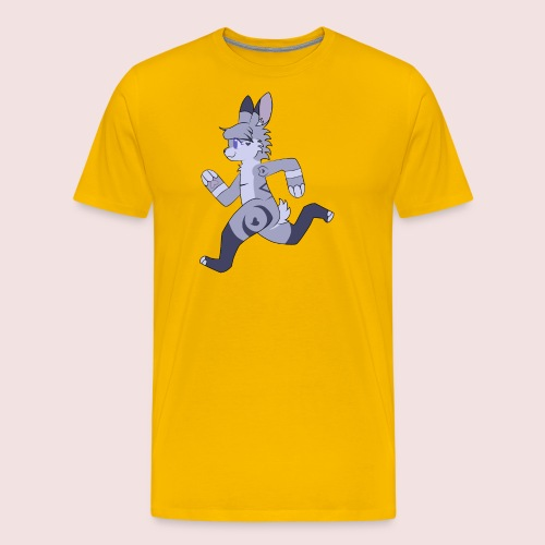 Breezy Bunny - Men's Premium T-Shirt