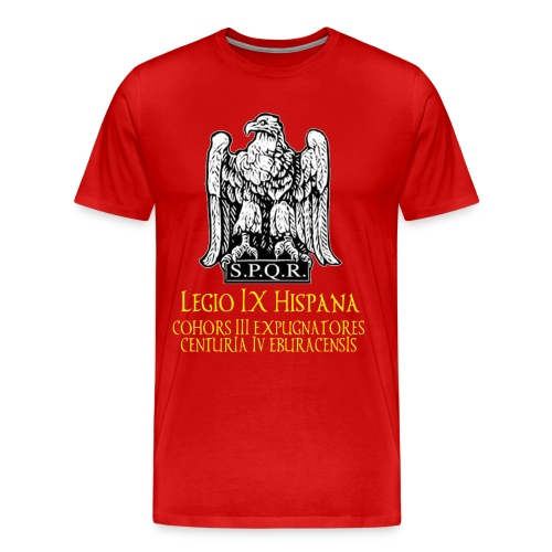 LEGIO IX LOGO VII trans3 gif - Men's Premium T-Shirt