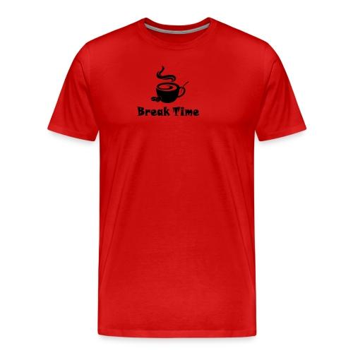 break time - Men's Premium T-Shirt