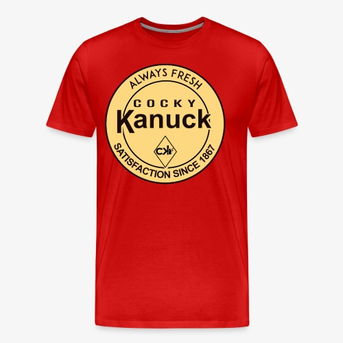 Cocky Dipper Vintage Tee - Men's Premium T-Shirt