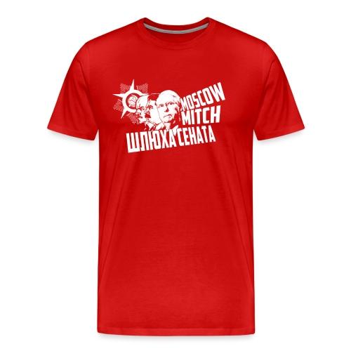 Moscow Mitch - Whore of the Senate - Men's T-Shirt - Men's Premium T-Shirt