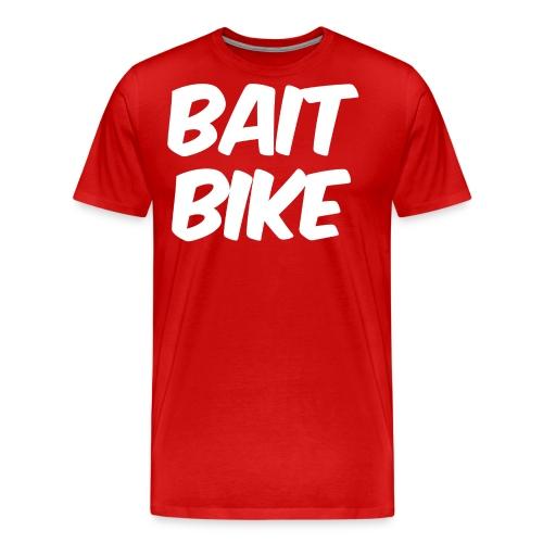 BAIT BIKE WHITE - Men's Premium T-Shirt