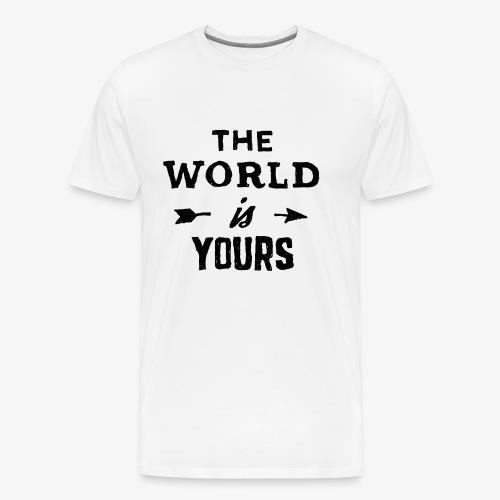 the world - Men's Premium T-Shirt