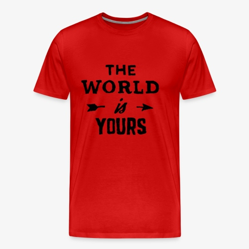 the world - Men's Premium T-Shirt