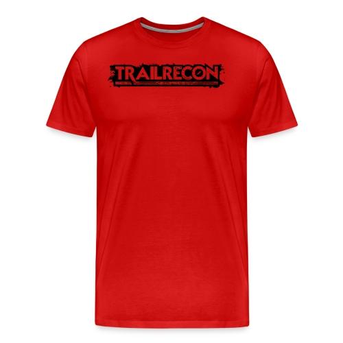 Handover Logo Trailrecon Black trimmed - Men's Premium T-Shirt