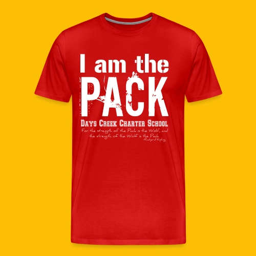 I am the PACK - Men's Premium T-Shirt