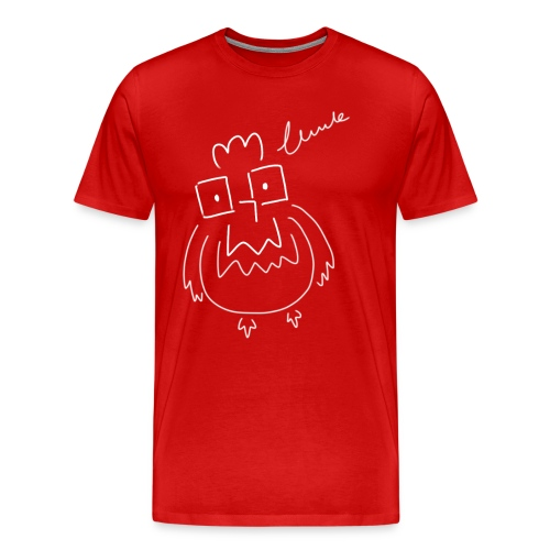 008 chicken - Men's Premium T-Shirt