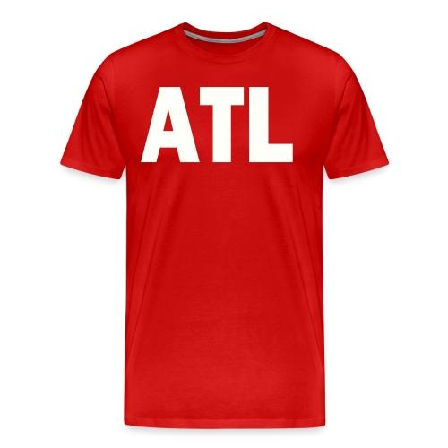 PLACE AND TIME - ATL - Men's Premium T-Shirt