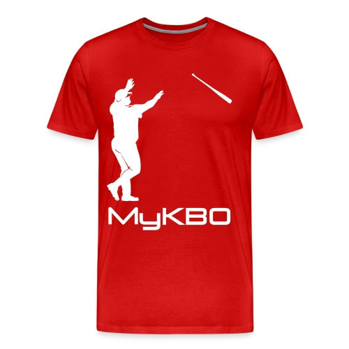 white mykbo - Men's Premium T-Shirt