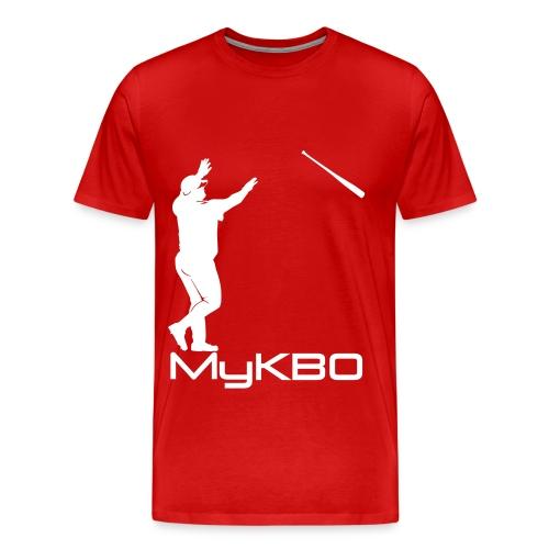 white mykbo - Men's Premium T-Shirt