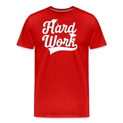 Hardwork #student - Men's Premium T-Shirt