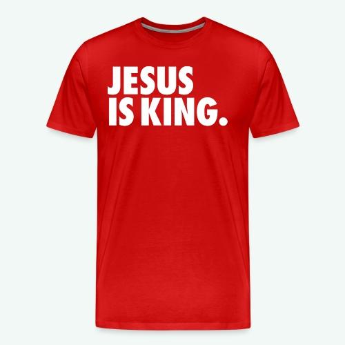 JESUS IS KING - Men's Premium T-Shirt