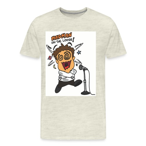 ken madman chibi color - Men's Premium T-Shirt