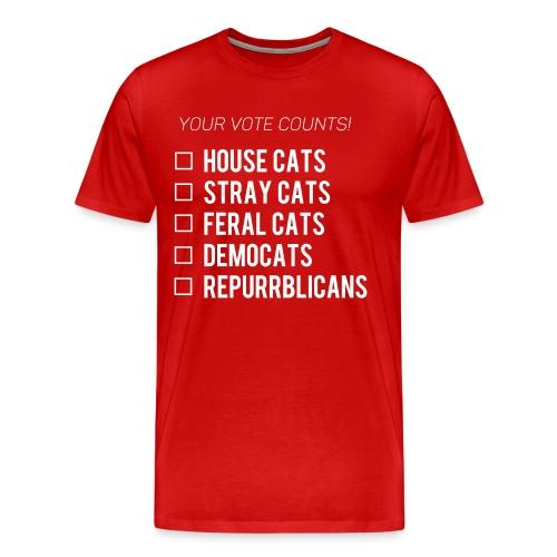 Democats & Repurrblicans - Men's Premium T-Shirt