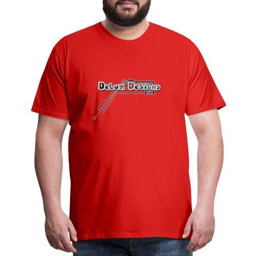 Delux Designs Train - Men's Premium T-Shirt