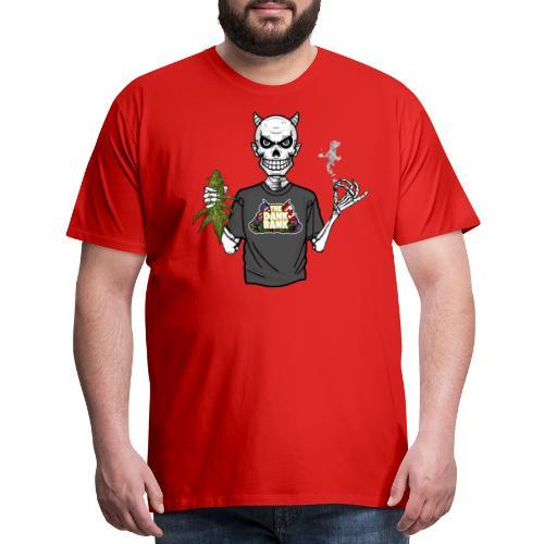 Wyt Devil's Lettuce - Devil Skelton - Men's Premium T-Shirt