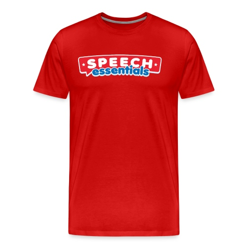 SpeechEssentialLogoFinal - Men's Premium T-Shirt