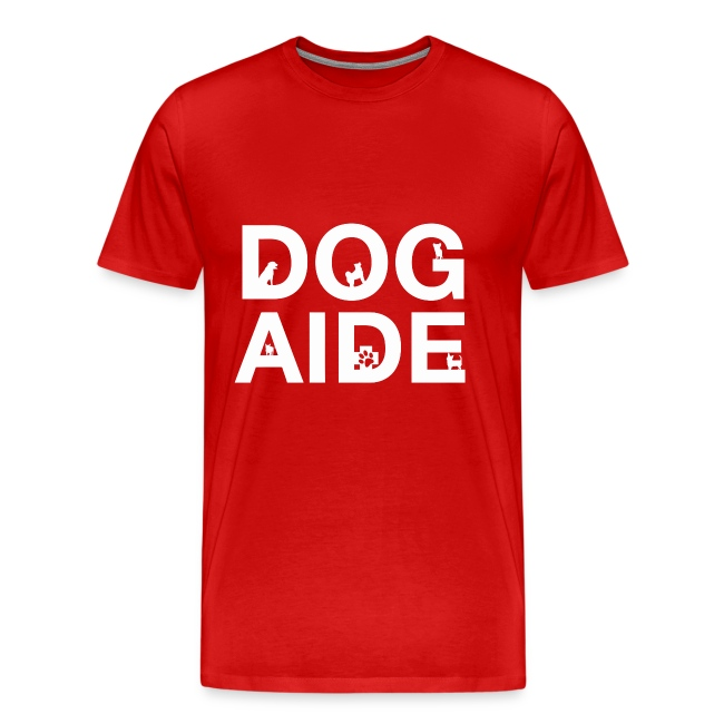dog aide NEW white