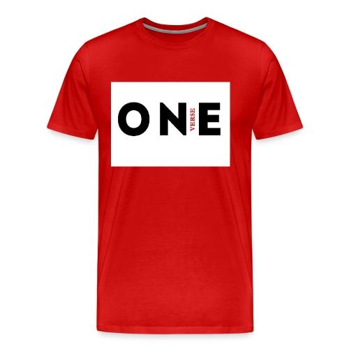 1 vers png - Men's Premium T-Shirt