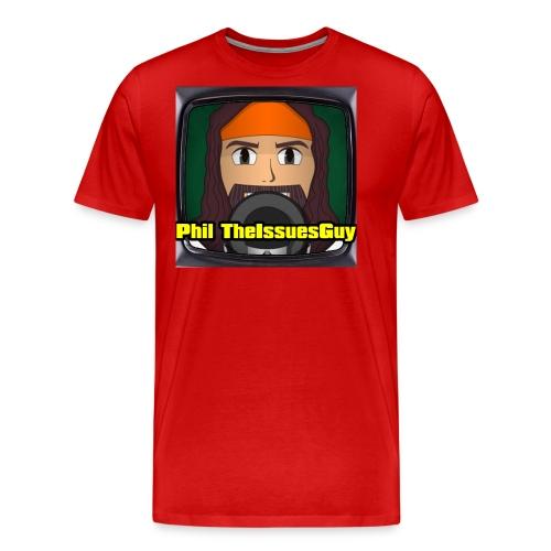 Phil TheIssuesGuy Shirt - Men's Premium T-Shirt