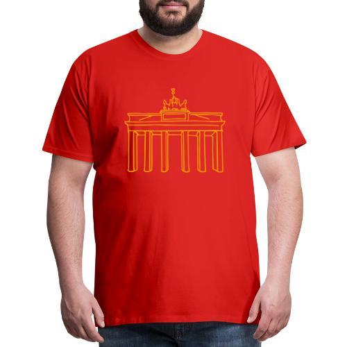 Brandenburg Gate Berlin - Men's Premium T-Shirt