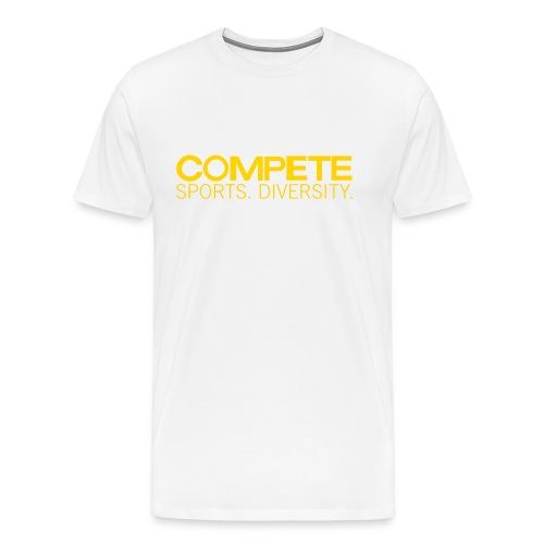 speadshirt compete logo red - Men's Premium T-Shirt