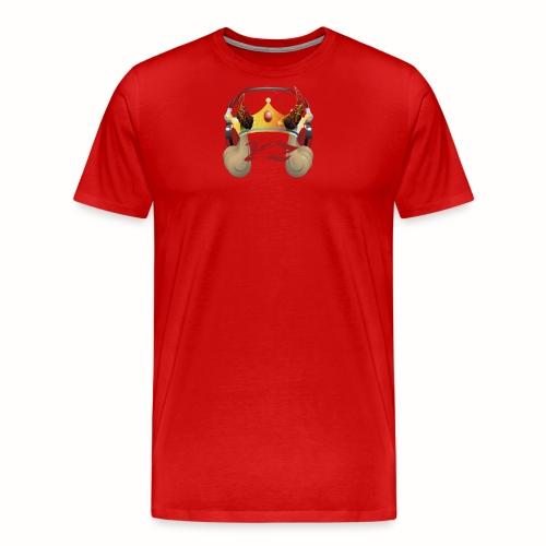 YXNGZAY KING LOGO - Men's Premium T-Shirt