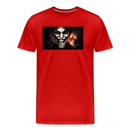 Jokers Evil Scheme - Men's Premium T-Shirt