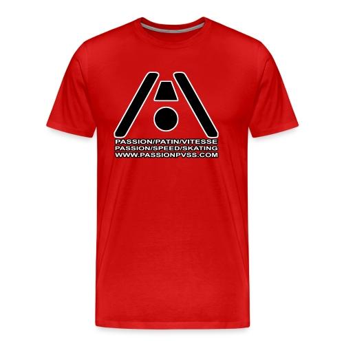 Passion / Skate / Speed - Passion / Speed / Skating - Men's Premium T-Shirt