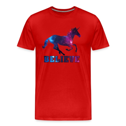Believe Unicorn Universe 7 - Men's Premium T-Shirt