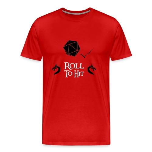 Roll to Hit - Men's Premium T-Shirt
