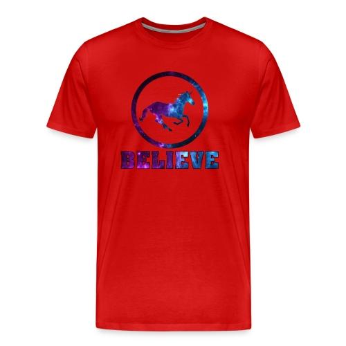 Believe Unicorn Universe 6 - Men's Premium T-Shirt