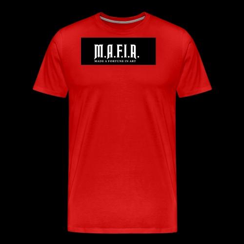 Classic Mafia Logo Black - Men's Premium T-Shirt