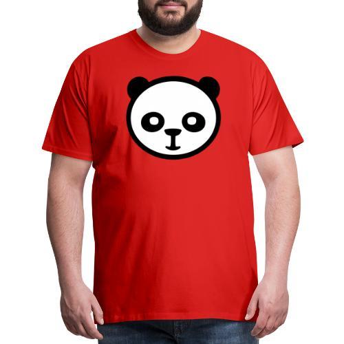 Panda bear, Big panda, Giant panda, Bamboo bear - Men's Premium T-Shirt