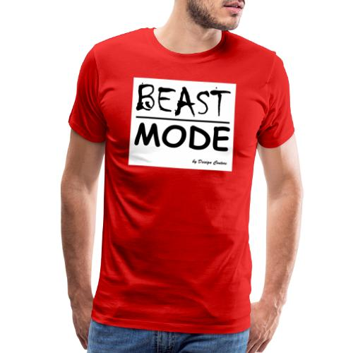 MODE, BEAST-BLACK - Men's Premium T-Shirt