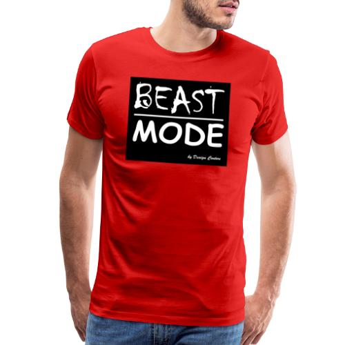 MODE, BEAST-WHITE - Men's Premium T-Shirt