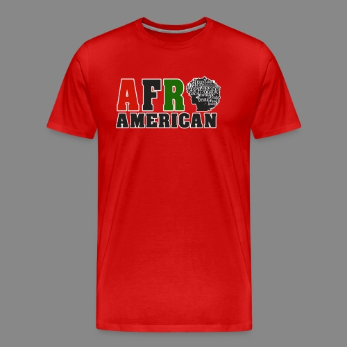 Afro American RBG - Men's Premium T-Shirt