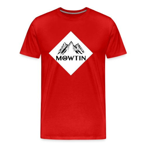 Black_Outline_Design - Men's Premium T-Shirt